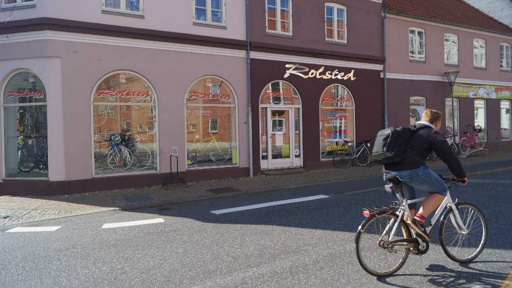 Rolsted Cykler facade
